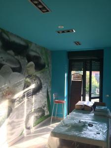 Lavori di fengh shui durante la ristrutturazione di una sala massaggi